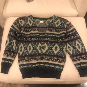 Urban renewal v neck sweater